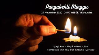 PANGABEKTI MINGGU - 29 November 2020