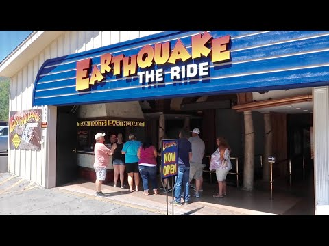 Earthquake The Ride - NEW Updates and Effects / Now Reopened / My Weirdest Ride Thru Ever