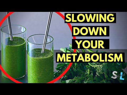 8 Things That Are Slowing Down Your Metabolism
