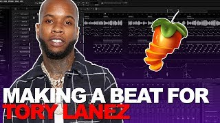 MAKING A BEAT FOR TORY LANEZ IN LESS THAN 10 MINUTES