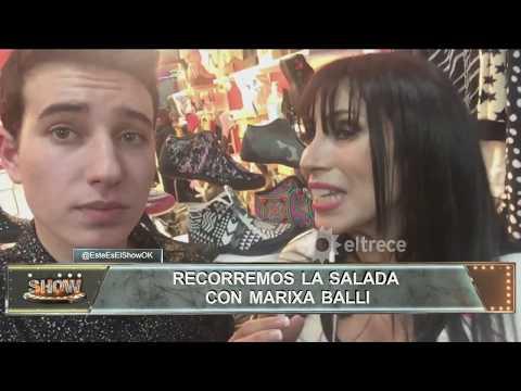 Este es el show recorrió La Salada con Marixa Balli