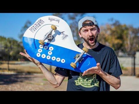 Unbendable Metal Skateboard | You Make It We Skate It