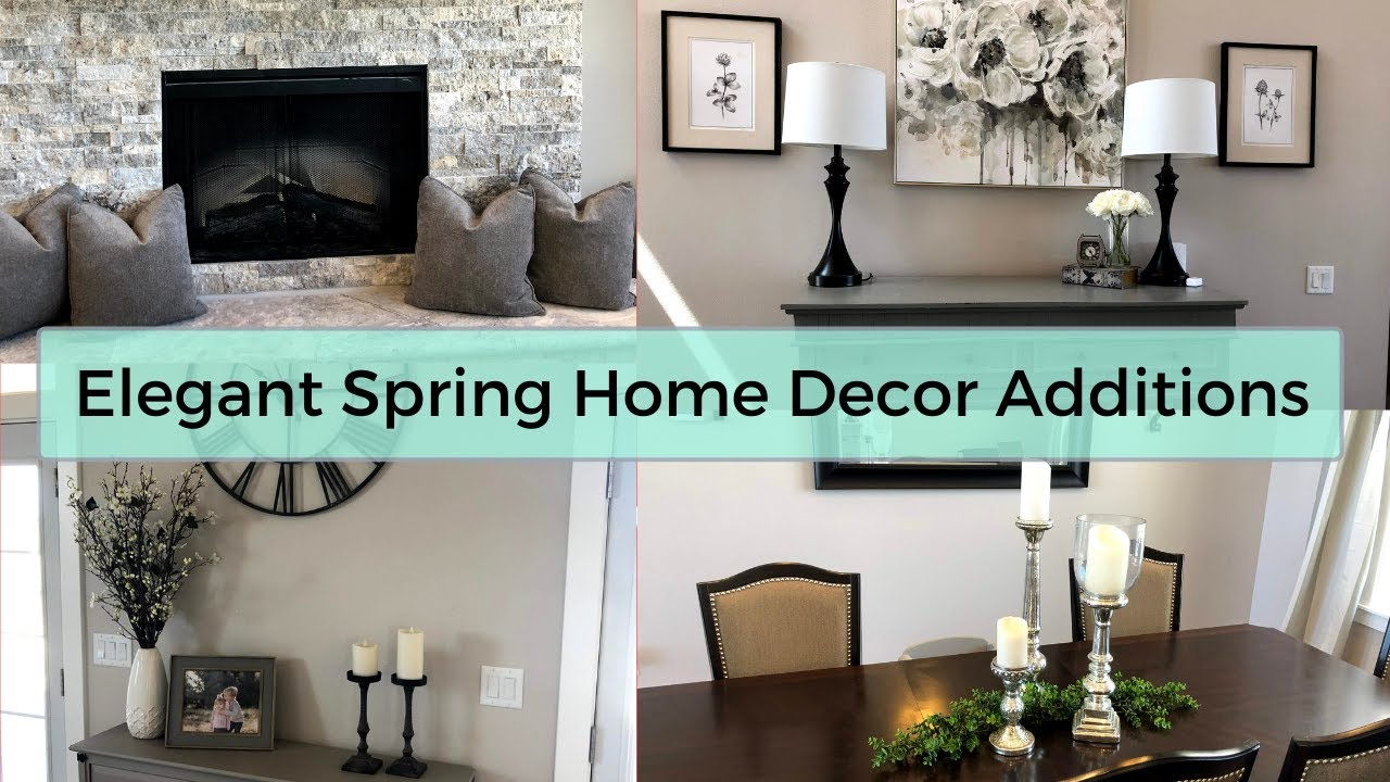 Elegant Spring Home Decor Additions On a Budget