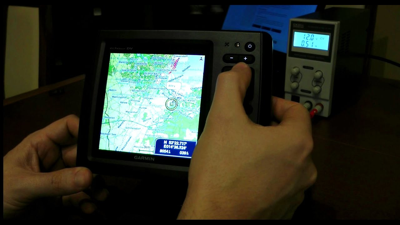 Garmin echoMAP 52dv CHIRP - Open Sea Map installation on