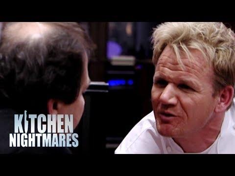 "FURIOUS Showdown Between ""Gordy"" & Ungrateful Owner!   Kitchen Nightmares"