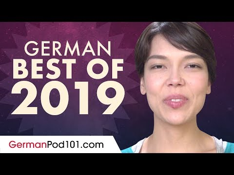 Learn German In 1 Hour 15 Minutes - The Best Of 2019