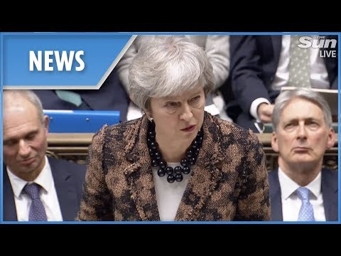 Theresa May spells out Brexit Plan B