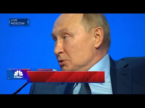 Putin: Russia is not using energy as weapon