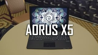"AORUS X5 - 15"" 3K | GTX 965M SLI | 32GB RAM | M.2 RAID 0 Thumbnail"