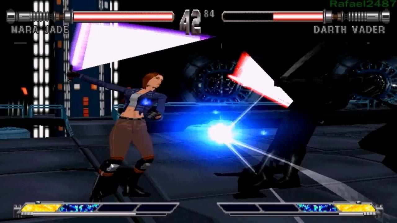 Star Wars Masters Of Teras Kasi Ps1 Mara Jade Part 2 Arcade Mode