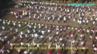 Rekor Muri Senam KUN ANTA Sekolah Islam CIKAL HARAPAN BSD