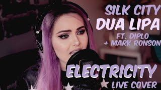 Silk City, Dua Lipa - Electricity ft. Diplo, Mark Ronson (Live cover) Video