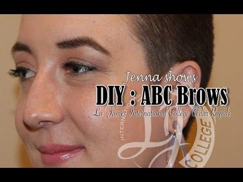 DIY : ABC Brows (La' James International College Cedar Rapids)