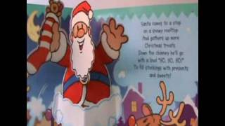 HO HO HO! Santa Claus Christmas POPUP Book with SOUNDS Libro pop-up con Sonidos Navidad