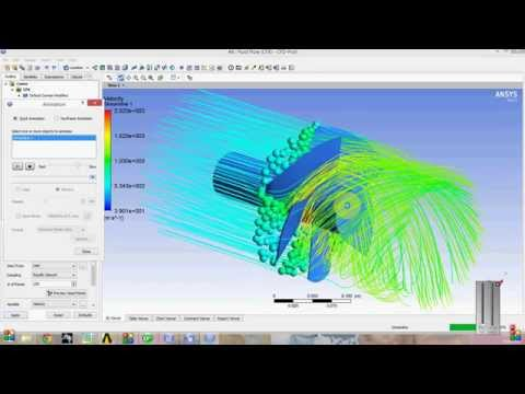 CFX Analysis at Propeller Fan in Ansys workbench