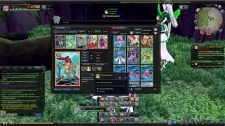 Aura Kingdom - Card Duel: Hi-Speed deck - beating Gold Card with Orange Card