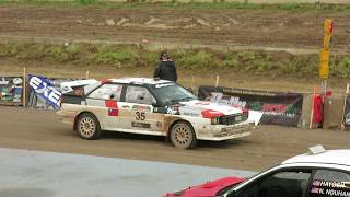 Audi Quattro #35 Southern Ohio Forest Rally Stage 22 part 1