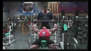 Dennis Wolf Chest Workout Part 1