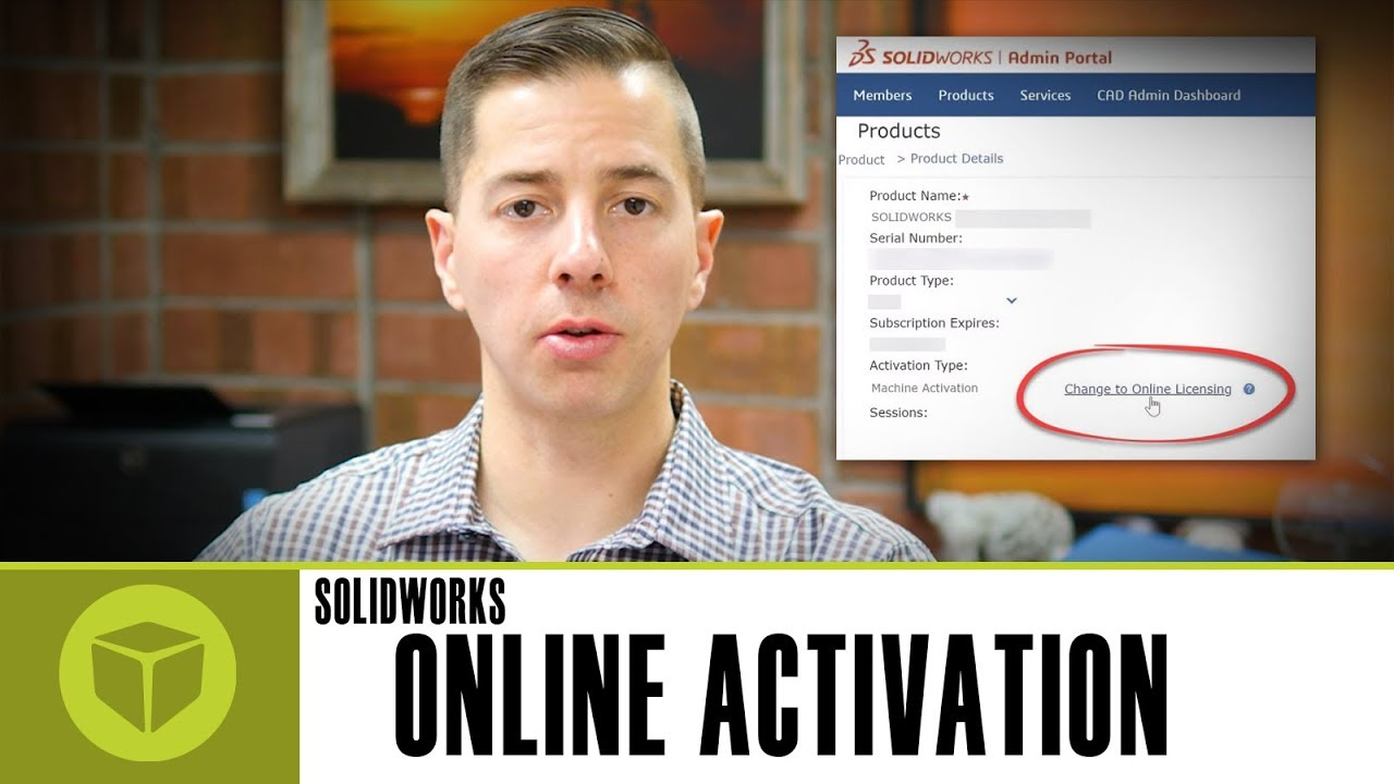 SOLIDWORKS 2018 - Online Activation