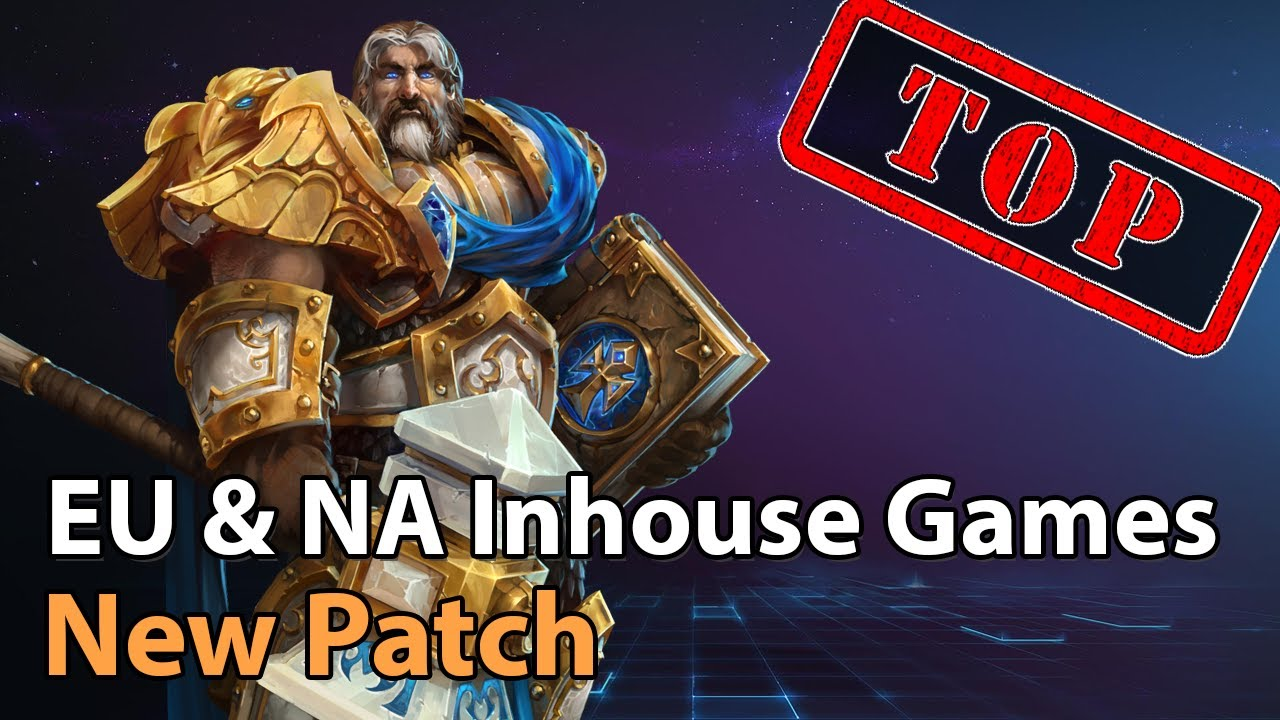 ► EU & NA Inhouse Matches (Live Server) - Heroes of the Storm Esports