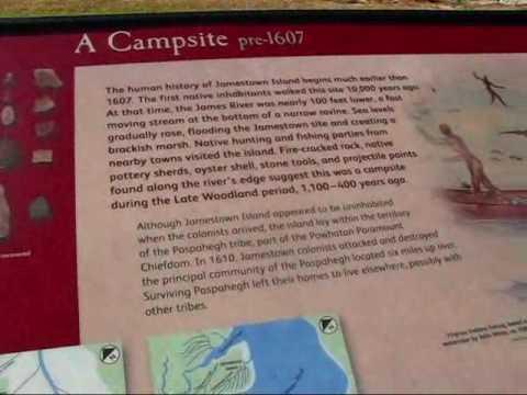 Travel Virginia: Native history before 1607 at historic Jamestown Settlement