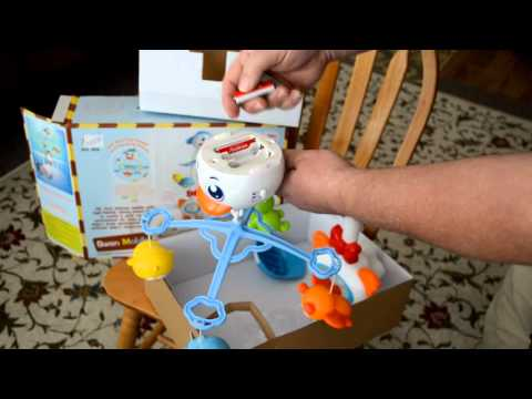 Unbox, Assembly & Review: Swan Baby Musical Mobile