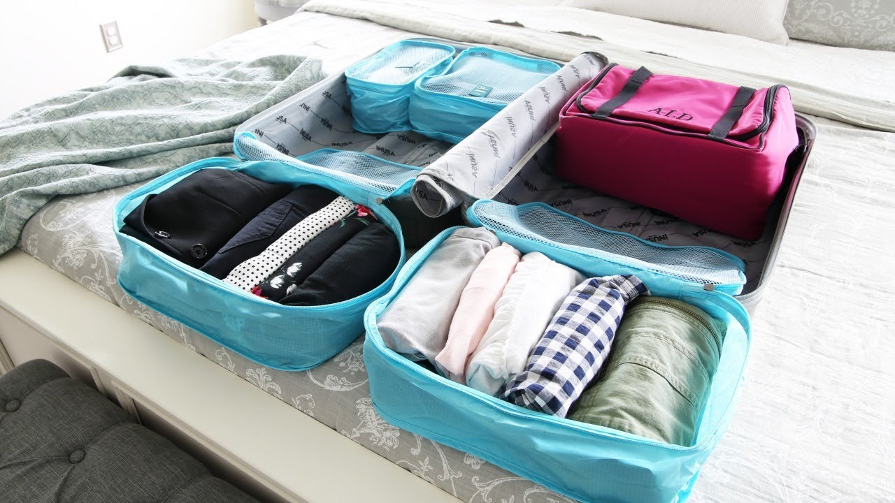 e1e509f74 Pack with me! | How to Pack an Organized Suitcase When You Travel ...