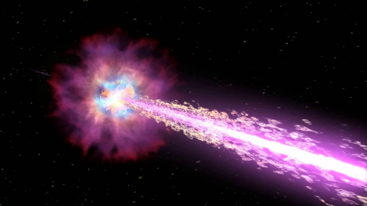 NakedEye Gammaray Burst Model for GRB 080319B  YouTube