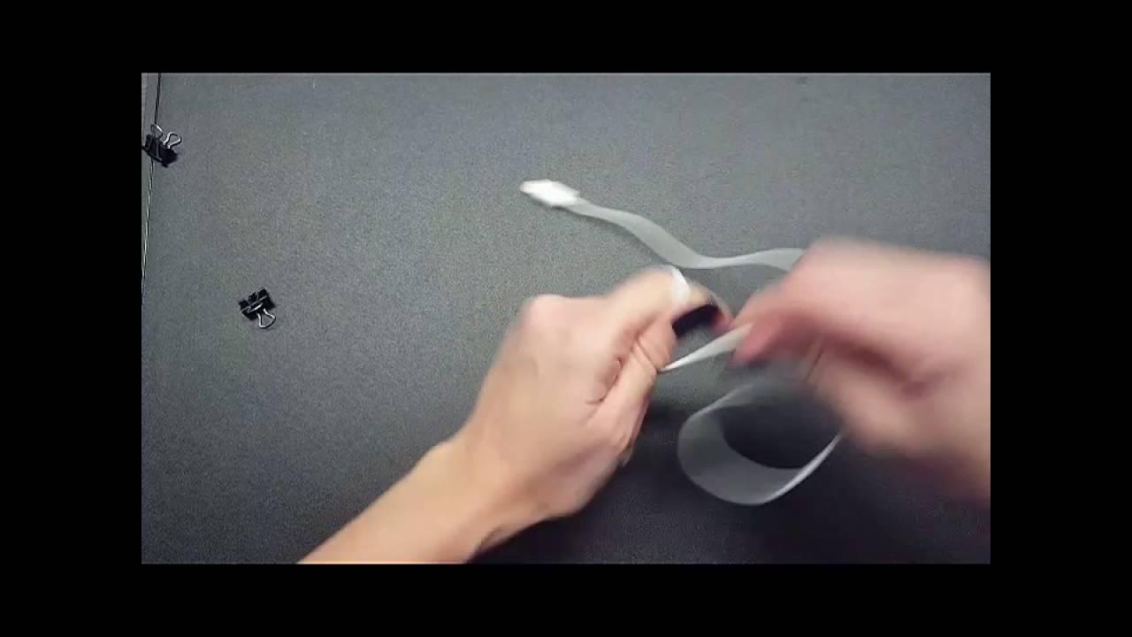 Life Hack DIY Kabel Salat Ordnen Mit Foldbackklammer.Binder Clips. Schnell  Und Einfach.Kinderleicht