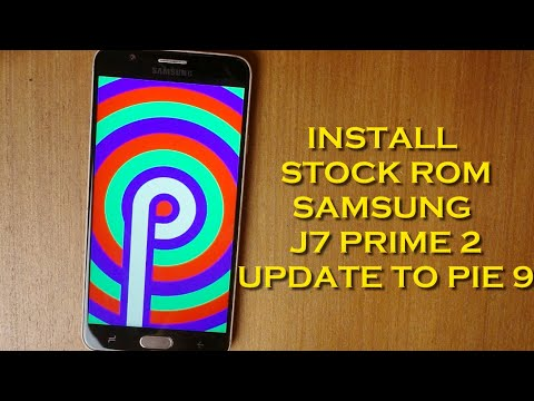 How to Install Stock Rom Samsung Galaxy J7 Prime 2 using odin
