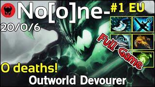 0 deaths! No[o]ne- [VP] plays Outworld Devourer!!! Dota 2 Full Game 7.20