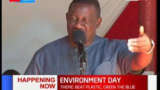 DP William Ruto officiates World Environments Day in Kwale County