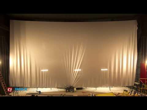 IMAX Screen Installation Timelapse at Celebration! Cinema Crossroads