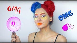 Fluo Party look! Kolorowe farby do włosów - neon, UV, denim hair, świecące lakiery - DIY, Test