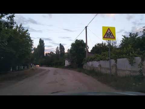 Разбитая центральная улица села Тенистое, Бахчисарайский район