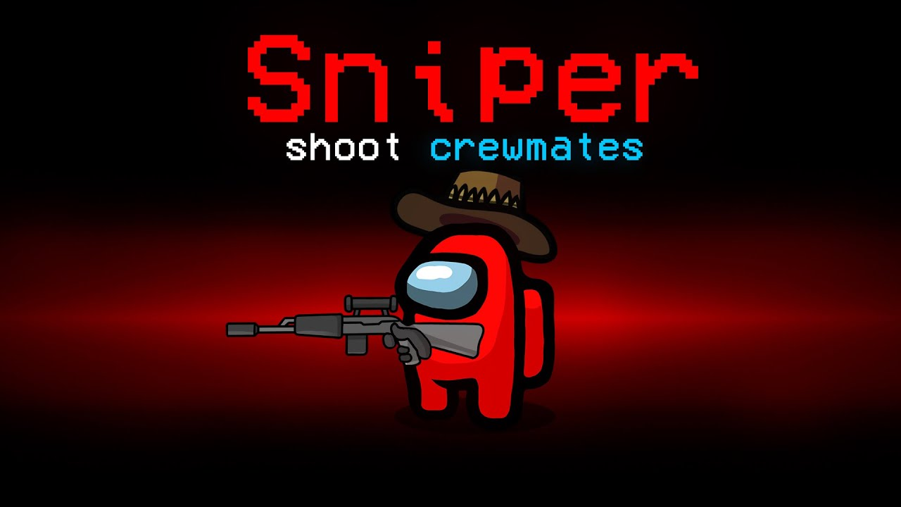 Crewmates are SNIPERS in Among Us! (Modded)