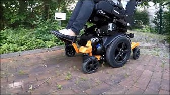 Sähköpyörätuoli Juvo: MidWheel Torsion Drive System
