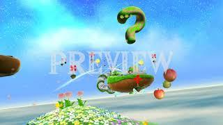 Super Mario Galaxy (Gusty Garden Galaxy) - 1080p 60FPS Looping Background