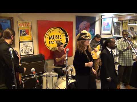 Big Pearl & The Fugitives Of Funk @ Louisiana Music Factory 2014