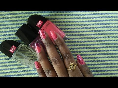 Beginners Nail Art Tutorial  5 Simple Designs  No Special Tools Needed