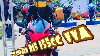 Test ride r15 v3 #yamahajabar #r15