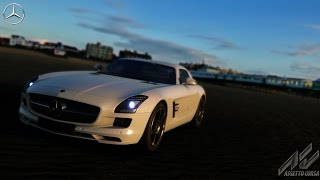 Assetto Corsa Mercedes-Benz SLS AMG Gameplay (PC HD)