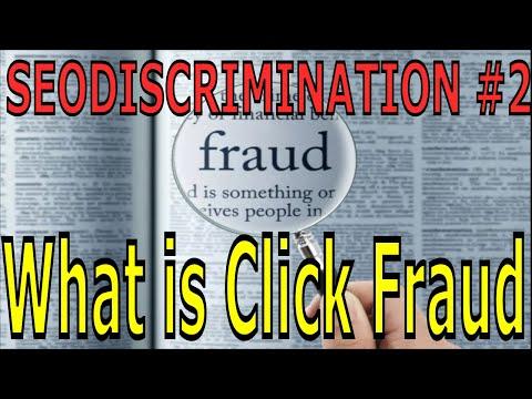 Seodiscrimination Tutorials #2 - What is Click Fraud ?