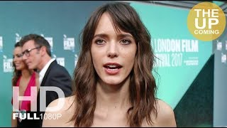 Stacy Martin interview at Redoubtable premiere for London Film Festival