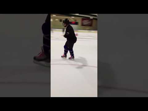 Learning To Hockey Skate - Crossovers