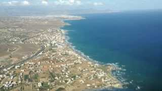 Visual approach to Heraklion airport - Cockpit view thumbnail