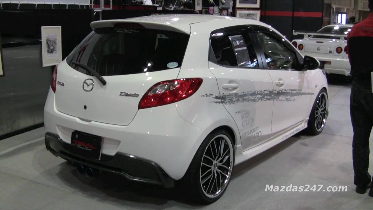 trial tuned mazda demio mazda2 mazdas247 youtube. Black Bedroom Furniture Sets. Home Design Ideas