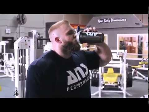 Ottawa Personal Trainer Freddy Palmer Leg Workout With Client Iain Valliere, IFBB Pro