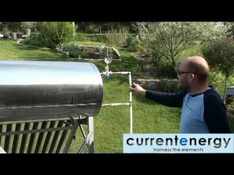 CURRENTENERGY.CA - Part 3 - PHA180 - HPC - Evacuated Tube Solar Thermal Collector System