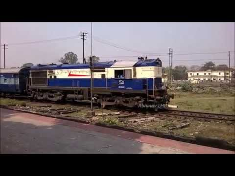NGC WDM3A 16386R leading CHANDIGARH - DIBRUGARH Express